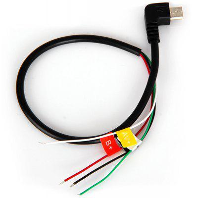 Micro USB AV Cable for SJ4000 / SJ4000 WiFi Car DVR Camcorder