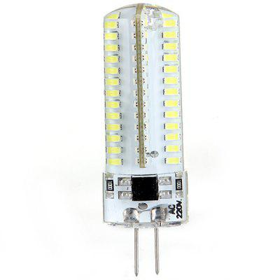 7W High Performance G4 Based SMD 3014 6000 - 6500K Tiny LEDs Corn Light (104 LEDs 600LM)