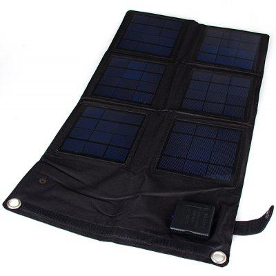 SW18 18W Outdoor Foldable Portable Solar Charger Pack Mobile Power Supply