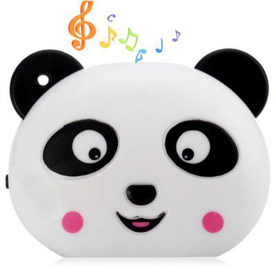 Practical Panda Style MP3 Player with Universal 3.5mm Jack Stereo Sound Support TF Card USB Interface