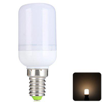 Sencart E14 4W 12 5730-SMD Warm White Frosted LED Corn Bulb