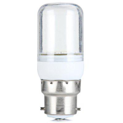 Sencart B22 5W White Light SMD 5730 15 - LED Corn Light with Transparent Shell (140Lm 5800 - 6200K)