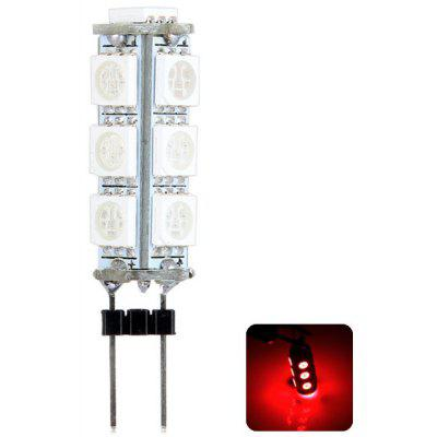 Sencart G4 2.5W Red Light 120  -  160lm 13 SMD 5050 LEDs Car Read Lamp Turn Signal Light (12V)