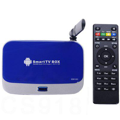 CS918II RK3288 Quad - Core 4K x 2K Android 4.4 TV Box Built - in Antenna for WiFi Bluetooth ( 2GB RAM 8GB ROM )