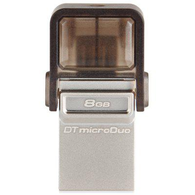 Kingston 2 in 1 High Speed 8GB MicroDuo Data Traveler OTG USB Memory Flash Disk for Android