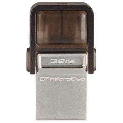 Kingston 2 in 1 High Speed 32GB MicroDuo Data Traveler OTG USB Memory Flash Disk for Android