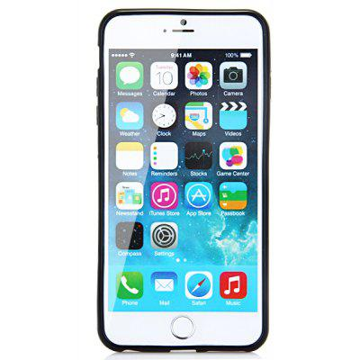 Stylish Frosted Protective Back Cover Case with TPU Material for iPhone 6 Plus