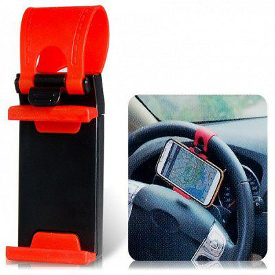 WF - 400 Universal Adjustable Mobile Phone Holder Smart Clip Steering Wheel Car Holder