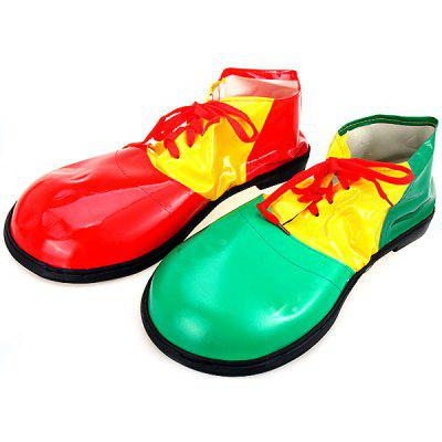 2Pcs Detail - oriented Halloween Clown Shoes Fancy Ball Christmas Cosplay Props Party Fools Day DecorationMagic Tricks<br>2Pcs Detail - oriented Halloween Clown Shoes Fancy Ball Christmas Cosplay Props Party Fools Day Decoration<br><br>Age: Above 3 Years<br>Package Contents: 2 x Shoe<br>Package size (L x W x H): 38 x 18 x 10 cm<br>Package weight: 0.600 kg<br>Product size (L x W x H): 36.0 x 16.5 x 9.0 cm / 14.2 x 6.5 x 3.5 inches<br>Product weight: 0.531 kg<br>Type: Cosplay Toy