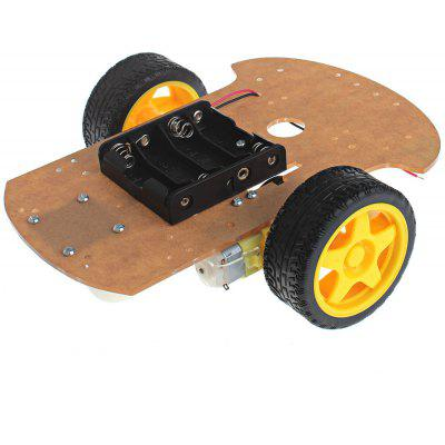 152984 DIY Motor Smart Robot Car Chassis Kit 2 WD Arduino