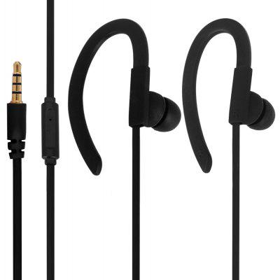 Exquisite SMZ640 Hifi Sound In - ear Headphone with Ear Hook 1.15M Good Sound Insulation Flat Wire