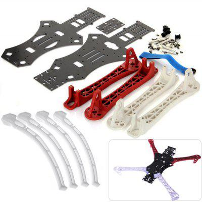450 X - Mode Alien Multicopter Quadcopter Frame and 4pcs F450 Frame Multifunction Landing Gears