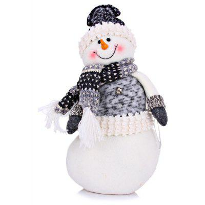 Lovely Snowman with Hat Scarf Festival Gift Christmas Ornament