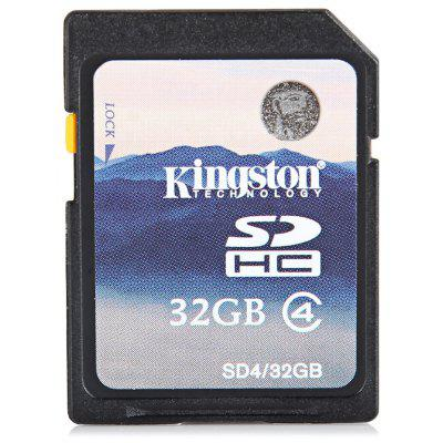 Kingston High Capacity 32GB Class 4 SDHC SD Memory Card Support FAT32 File Format