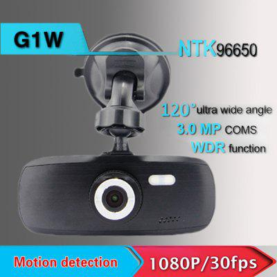 G1W UHD 1080P Car DVR Dash Cam 2.7 inch LCD Display G - Sensor Loop - cycle Recording Novatek 96650