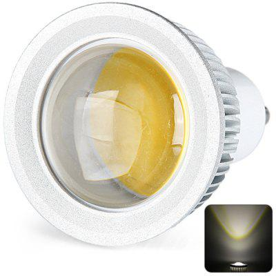 GU10 Based 3W COB Spot Lamp Warm White Spot Light with Silver Housing  -  300LM