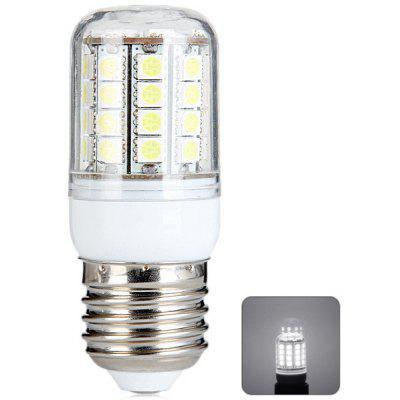 Sencart E27 8W SMD - 5050 6000 - 6500K Transparent LED Corn Lamp (45 LEDs 390LM White Light)