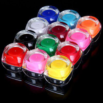 12 Solid Colors UV Gel