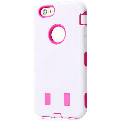 Fashionable Silicone and Plastic Material High Quality Back Cover Case for iPhone 6  -  4.7 inches