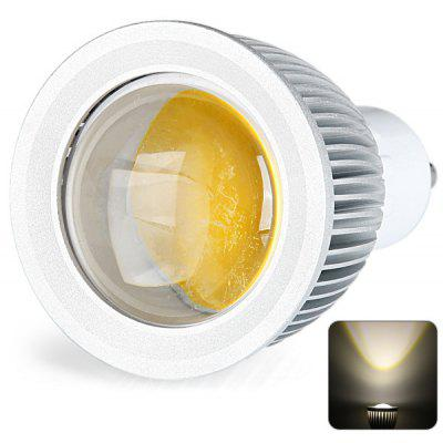 GU10 Based 5W COB Spot Lamp Warm White Spot Light with Silver Housing  -  500LM