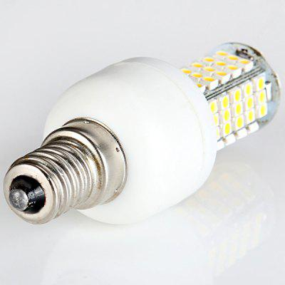 Sencart 6W 280LM SMD 3528 E14 Warm White 102 - LED Corn Bulb without ShellCorn Bulbs<br>Sencart 6W 280LM SMD 3528 E14 Warm White 102 - LED Corn Bulb without Shell<br><br>Appearance: No Cover<br>Available Light Color: Warm White,Cold White<br>Brand: Sencart<br>Bulb Base Type: E14<br>Emitter Type: SMD-3528 LED<br>Features: Long Life Expectancy, Energy Saving, Low Power Consumption<br>Function: Studio and Exhibition Lighting, Home Lighting, Commercial Lighting<br>Luminous Flux: 280LM<br>Output Power: 6W<br>Package Contents: 1 x LED Corn Light<br>Package size (L x W x H): 13 x 10 x 4 cm<br>Package weight: 0.07 kg<br>Product size (L x W x H): 7.6 x 2.8 x 2.8 cm / 2.99 x 1.10 x 1.10 inches<br>Product weight: 0.027 kg<br>Sheathing Material: Aluminum Alloy, Plastic<br>Total Emitters: 102 LEDs<br>Type: Corn Bulbs<br>Voltage (V): AC85-265
