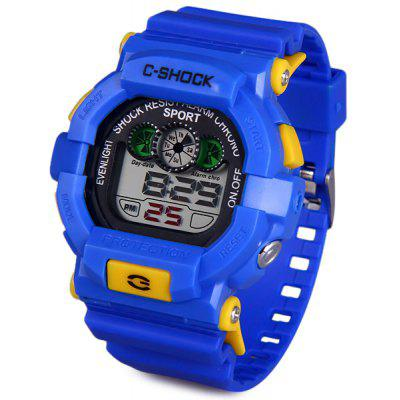 Buy BLUE 939 LED Military Watch Light Chronograph Week Date for Sports for $5.87 in GearBest store