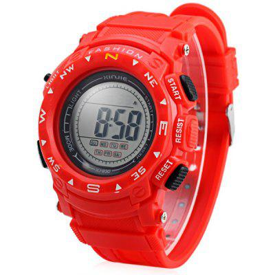 Xinjie 930 LED Military Sports Watch Light Stopwatch Month Day Week for Men Women