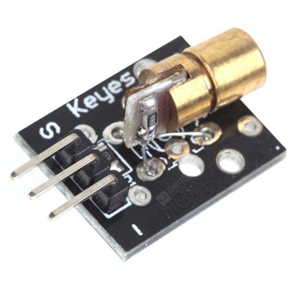 DIY 650nm Laser Diode Sensor Module Works with Official Arduino Board