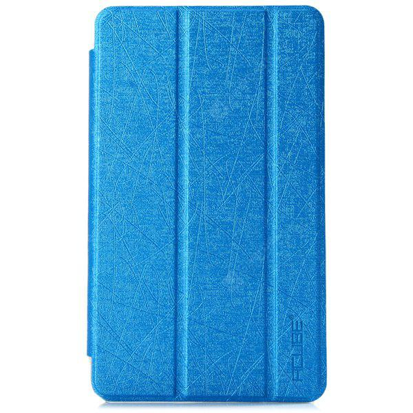 PU Leather and Plastic Protective Case with Triple Folding ...