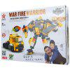 Star Diamond 81512 Funny War Fire Warrior Building Blocks Plastic Intelligent Toy Melhor presente
