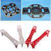 4pcs Universal High Landing Gear for F450 F550 SK480 +F450 Multicopter Quadcopter Rack Kit Frame - AS THE PICTURE