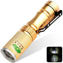 Zweihnder 120LM Cree XPE R2 3 - Modes Mini Zoomable LED Flashlight Torch (1 x 14500 / AA Batery)