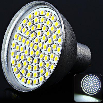 Sencart SMD 3528 72 LEDs 5W GU5.3 White Light Spot Lamp (280LM 6000 - 6500K)