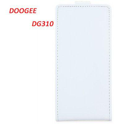 DOOGEE DG310 Leather + Plastic Fashion Design Vertical Protective Wallet Case Co