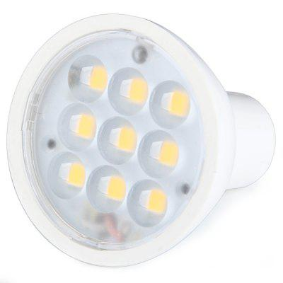 3W MR16 SMD 2936 9 LEDs Warm White Spot Light PC Housing Bulb (300LM 2800 - 3200K)