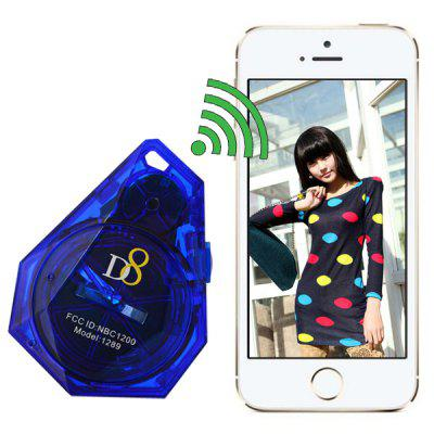 D8 Bluetooth V4.0 Anti - Lost Alarm Tracer Remote Control Camera Shutter