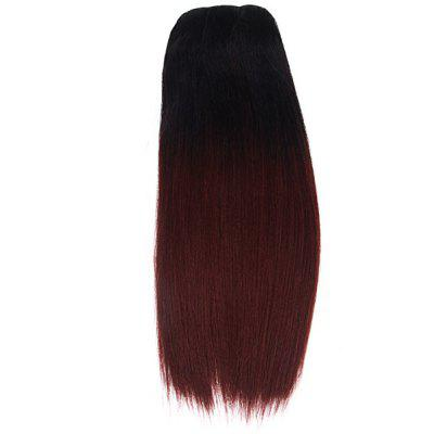 Yaki WVG 14 TIB/33 Black + Dark Brown and Black Women Stright Hair Wig