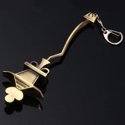 LOL League of Legends JAX Weapon Model Key Chain Cool Christmas Gift ...