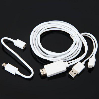 Micro 5pin and 11pin USB MHL to HDMI Adapter Cable Available