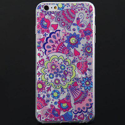 Buy Beautiful Flower Pattern Soft Material Back Cover Case for iPhone 6 Plus 5.5 inches for $2.84 in GearBest store