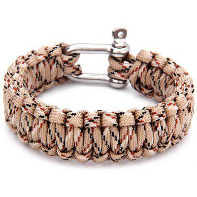 Outdoor Climbing Survival Bracelets with Stainless Steel Clasp