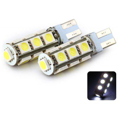 Sencart T10 2.5W 5050 13 LEDs White 120 - 160LM 6000 - 6500K Car Reading Light DC 12V (2 pcs)