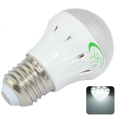 XinYiTong E27 3W 10 SMD 2835 6500K LED Lights Super Bright Ball Bulb (300LM White Light)