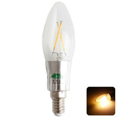 Zweihnder CMY - 41 E14 Tungsten Filament Warm White Light Candle Light Bulb with Base Cover