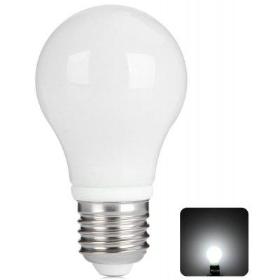E27 5W White Light Bulb Light with Milky Cover  -  6000K 450Lm AC 100 - 240V