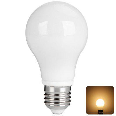 6W E27 Super Bright Milky LED Bubble Ball Bulb (Warm White 550LM)