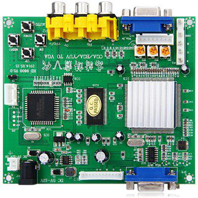Latest GBS8200 Practical RGB CGA EGA YUV to VGA Arcade HD Video Converter Adapter Board for Desktop Laptop