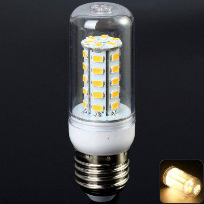 Sencart 7W E27 1200LM 36 SMD - 5730 LED Corn Bulb  -  3000 - 3500K Transparent Shell