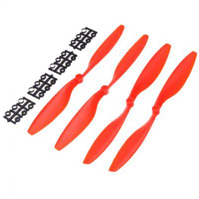Carbon Nylon 1045 Propeller Positive + Reverse for DJI F450 500 F550 Multicopter Airplane 2 Pairs