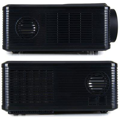 Excelvan CL720 LED Projector with Analog TV Interfaceprojectors<br>Excelvan CL720 LED Projector with Analog TV Interface<br><br>Aspect Ratio: 4:3 / 16:9<br>Brand: EXCELVAN<br>Brightness: 3000 Lumens<br>Color: Black,White<br>Contrast Ratio: 2000:1<br>Display type: LCD<br>Image Scale: 4:3,16:9<br>Image Size: 72 - 200 inch<br>Interface: AV, TV<br>Lamp: LED<br>Lamp Life: 50000 hours<br>Lamp Power: 150W<br>Material: Plastic, Glass<br>Model: CL720<br>Native Resolution: 1280 x 800<br>Other Features: Built-in Speaker (5W x 2)<br>Package Contents: 1 x Projector, 1 x Remote Controller, 1 x Adapter, 1 x AV Cable, 1 x VGA Cable, 1 x Fuse, 1 x Lens Cloth, 1 x User Manual<br>Package size (L x W x H): 38.50 x 18.20 x 33.80 cm / 15.16 x 7.17 x 13.31 inches<br>Package weight: 3.8500 kg<br>Power Supply: 90-240V/50-60Hz<br>Product size (L x W x H): 32.00 x 25.50 x 11.50 cm / 12.6 x 10.04 x 4.53 inches<br>Product weight: 3.3000 kg<br>Resolution Support: 1080P